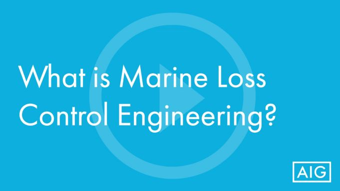 What is Marine Loss Control Engineering? (Video in Englisch)